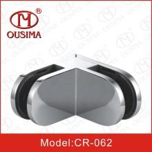 90 градусов Стекло для стекла Крепежный зажим для стекла из нержавеющей стали Cr-062)