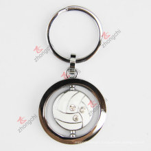 Custom Engraved Logo Volloyball Metal Key Chain (KR-78)