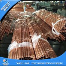 Tubo recto de cobre para aire acondicionado
