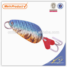SNL004 8-20g, attirail de pêche poisson personnalisé Cuillère de pêche en cuivre leurres