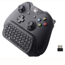Nouveau 47 touches sans fil 2.4G mini clavier sans fil Chatpad pour Microsoft Xbox One contrôleur avec 3.5 Jack audio