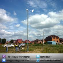 Energia livre de baixo nível de ruído do gerador do ímã do vento 1000W portátil (SN-1000W)