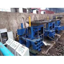 Machine de fabrication de briquettes de copeaux d'acier inoxydable horizontal