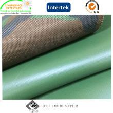 PVC-beschichtetes 100% Nylon 1000d Cordura-Gewebe mit Militärdruck