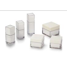 La boîte acrylique blanche de forme différente (hx-q057)