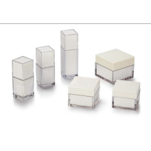A Caixa Acrílica de Forma Diferente Branca (hx-q057)