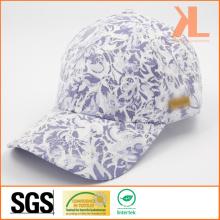 Polyester de qualité et coton en dentelle 6 panneau de baseball