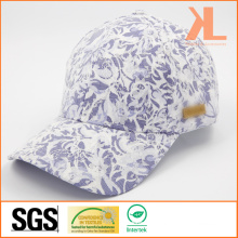 Quality Polyester & Cotton Lace 6 Panel Baseball Cap