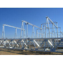 Substation Structure Transformer Steel Tower Pole