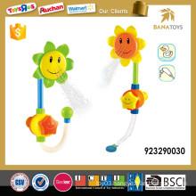 Flower style baby shower bath toy set