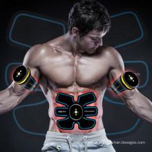 EMS Exercitador Abdominal Dispositivo Inteligente ABS Fit Formação Emagrecimento Massageador Muscular Eletrônico Toner Sistema de Fitness Body Trainning