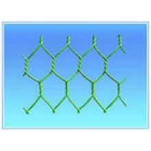Malla de alambre hexagonal pvc