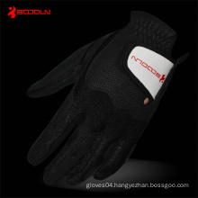 PU Golf Glove with Black Lycra for Entertainment (2481)