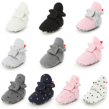 Superstarer High Quality Newborn Warm Toddler Socks Shoes Soft Sole Baby Cotton Shoes