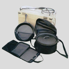 6pcs Vegetable Oil Camping Cookware Set