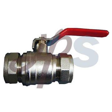 brass compression ball valve