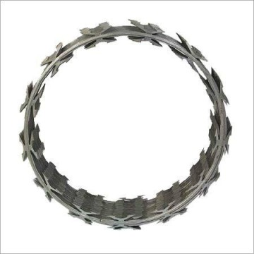 Helical Security Barbed Tape Razor Wire