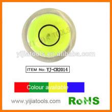 acrylic circular bulls eye level with ROHS standard YJ-CR2014