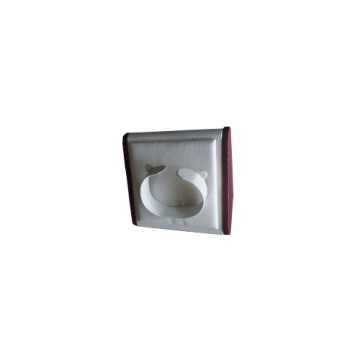 Leatherette White PU Tilt Watch Display Stand (WS-WLB-W1)