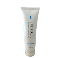 D40mm visage nettoyant crème conteneur blanc couleur tube 120ml