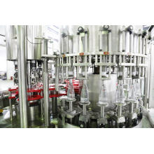 Machine de remplissage d'eau minérale de bouteille en verre