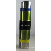 24oz Double Wall Vacuum Flask with 2 Cups