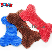 Specially Material Plush Pet Toy Stuffed Bone Toy for Dog Cat BOSW1075/22CM