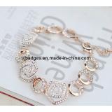Zinc Alloy Enamel Metal Bracelet