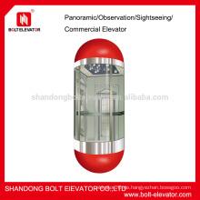 Kapselaufzüge Panorama Aufzug Aufzug Lift Aufzug