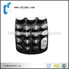Точное вакуумное литье Мобильный телефон Клавиатуры Быстрое прототипирование