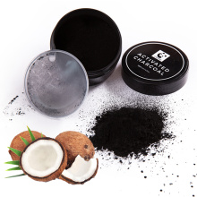 Высокое качество сырья скорлупы кокосового ореха активированный порошок уголь для отбеливания зубов