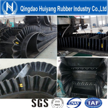 Reinforced Corrugated Sidewall Rubber Conveyor Belt