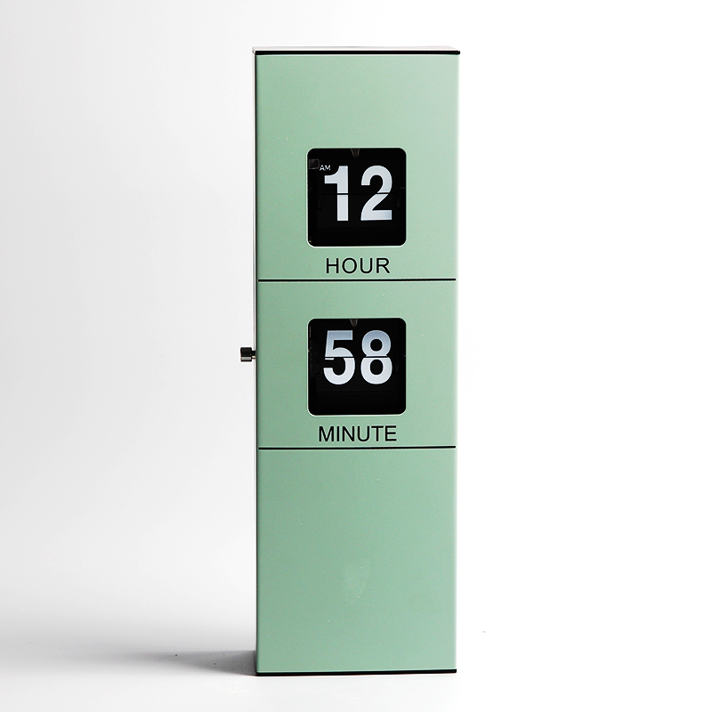 Rectangle Battery Operated Hanging Wall Flip Clock