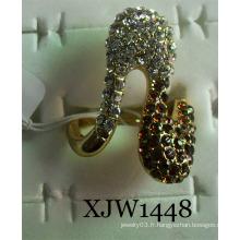 Anneau de diamant / Anneau de mode / bijoux en anneau (XJW1448)