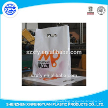 Plastic Bag For Packaging Clothes With Side Gusset