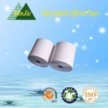 Caisse enregistreuse Type de papier Rouleau de papier thermique de réception 80 * 80 mm de haute qualité