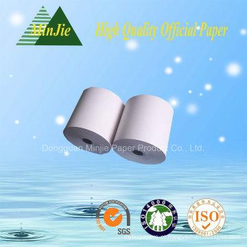 Tipo do papel do registo de dinheiro Rolo de papel térmico do recibo de 80 * 80mm da alta qualidade