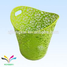 Eco-friendly green medical 240 litros de lixo decorativo em aço inoxidável