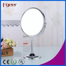 Fyeer Wholesale Round Brass Cosmetic Mirror (M5618)