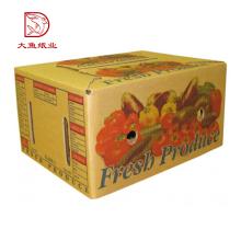 Bonne qualité en gros pas cher légumes meilleur carton ondulé