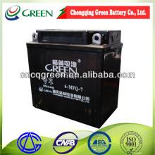 VRLA battery 12v7ah,storage battery motorcycle battery with pp plastic container