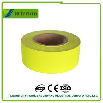 Haute visibilité jaune réfléchissant tissu Polyester
