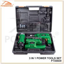 Powertec 3 en 1 Power Tool Set