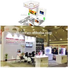 Detian Offer Portable Trade Show Equipment Exhibition Booth Design