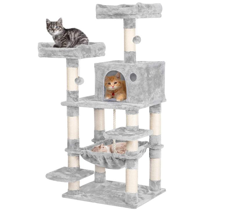 Multi Level Cat Tree Cat Tower