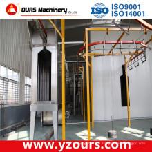 Máquina de revestimiento de polvo de aluminio, máquina de revestimiento de polvo de acabado de madera