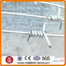 Zinc coated Barbed Wire barrier wire,clear coated wire