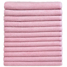 Colorful Warp Knitting Microfiber Cleaning Towels