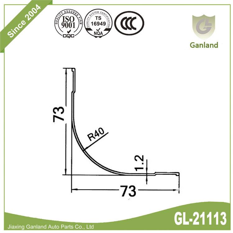 Corner Radius Panels gl-21113