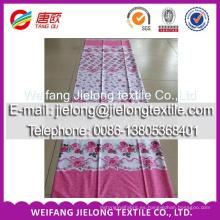 tela de algodón recubierta utilizada para sábana